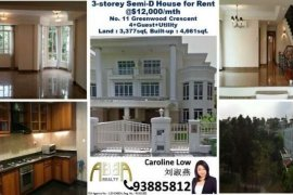5 bedroom house for rent in Greenwood Crescent, District 11